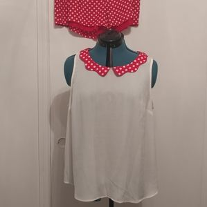 LC Minnie Mouse Collection blouse
